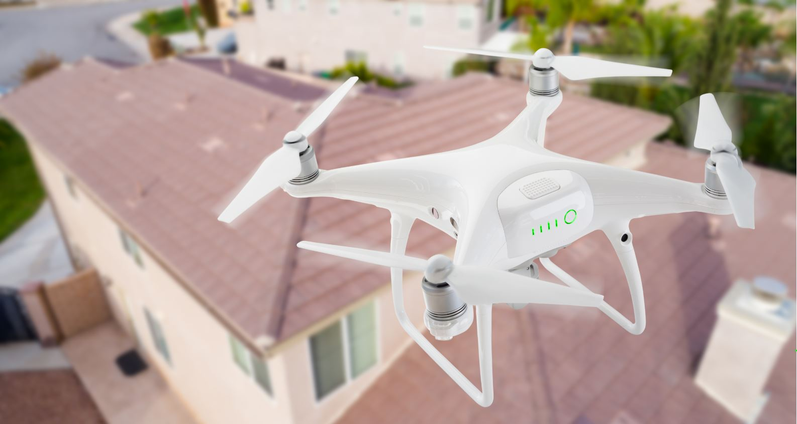 Drone Roof Inspection Houston